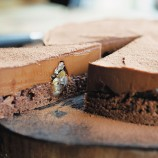 Chocolate and marrons glac�s tart recipe