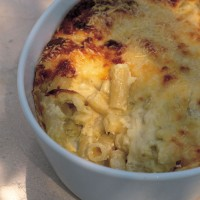 Souffled macaroni cheese recipe