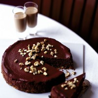 Chocolate, hazelnut and Amarula cheesecake recipe