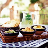 Dips with drinks recipe