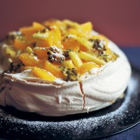 Clementine meringue recipe