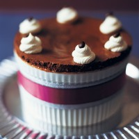 Chilled mocha souffle recipe