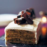 Rich coffee, chocolate and mascarpone torte recipe