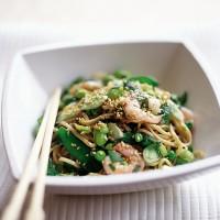 Sesame Prawn and Noodle Salad