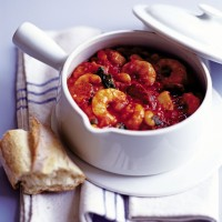 Chorizo, prawn and cod stew recipe