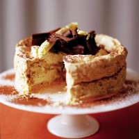 Nutty meringue cake recipe