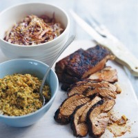 Moroccan spiced leg of lamb recipe