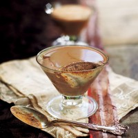 Chocolate parfait with Irish cream recipe