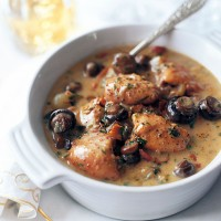 Creamy chicken and tarragon casserole recipe