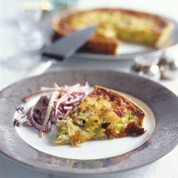Leek and Dolcelatte tart recipe