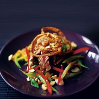 Thai rare beef salad recipe