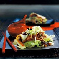 Crispy duck salad with hoisin dressing recipe