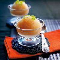 Lychee and lime sorbet recipe