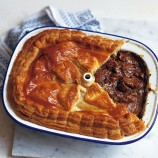 Steak, Kidney, Ale and Mushroom Pie