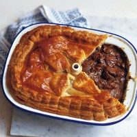 Steak, kidney, ale and mushroom pie recipe