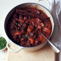Lamb and prune casserole recipe
