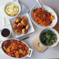 Gratin of sweet potato and celeriac recipe