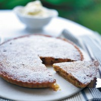 Italian fruit and nut tart recipe