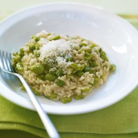 Freezer Greens Risotto