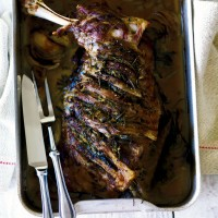 Slow-roasted lamb shoulder recipe