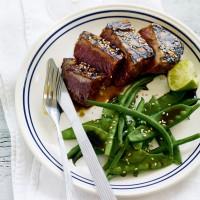 Sticky hoisin tuna recipe