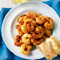 Piri-piri king prawns recipe