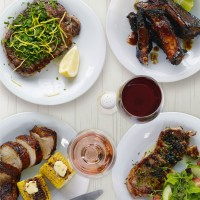 Glazed sticky ribs recipe