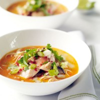 Thai salmon broth recipe
