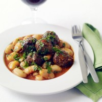Beans and meatballs recipe