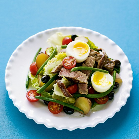 Classic Salad Nicoise-woman and home-recipes