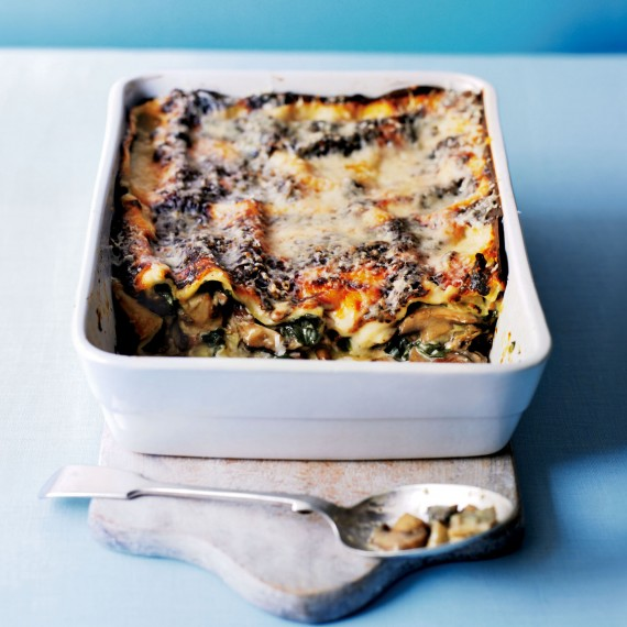 Wild Mushroom and Spinach Lasagne recipe-pasta recipes-recipe ideas-new recipes-woman and home