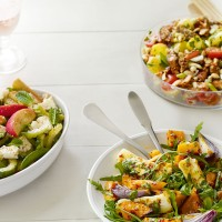 English summer salad with Wensleydale recipe