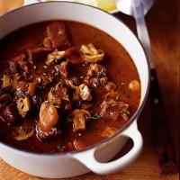 Beef, Mushroom and Thyme Casserole