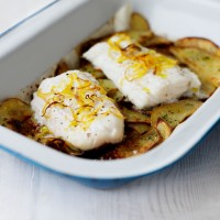 Oven-baked fish and chips recipe