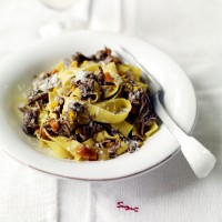 Slow-cooked pork pappardelle recipe
