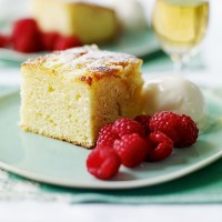 Sticky lemon cake recipe
