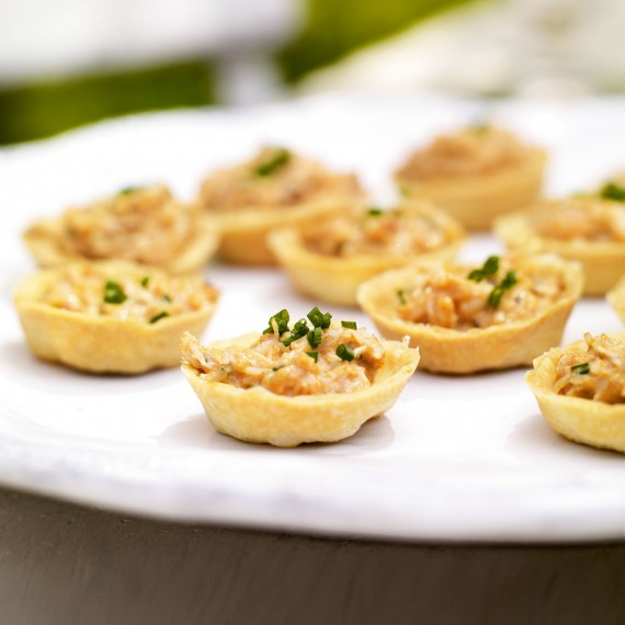 christmas day starter recipes fresh crab tartlets with