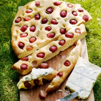 Simple grape and rosemary Foccacia recipe