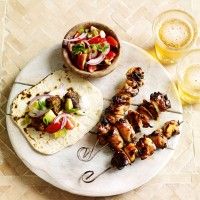 Spicy grilled skewers recipe