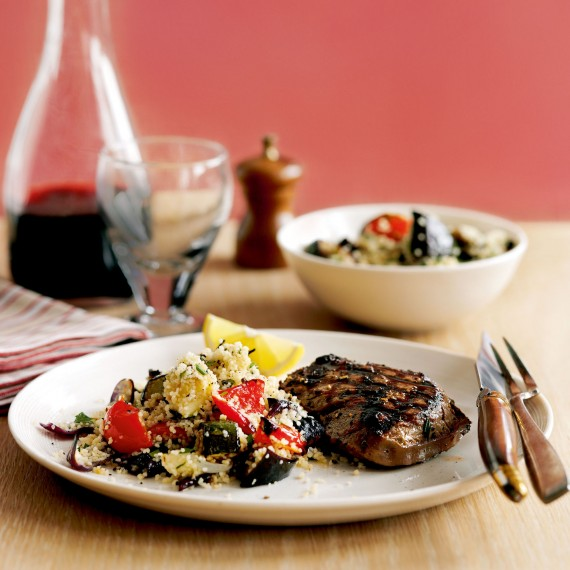 Rosemary Steak with Couscous Salad-steak recipes-recipe ideas-new recipes-woman and home