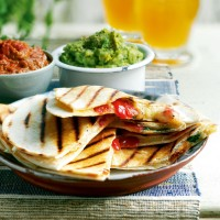 Cheese and tomato quesadillas recipe