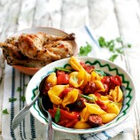 Chorizo and Pasta Salad