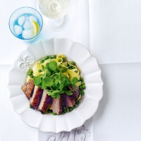 Crispy duck breast in ginger and star anise recipe