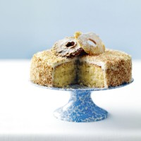 Pia colada cake with coconut frosting recipe