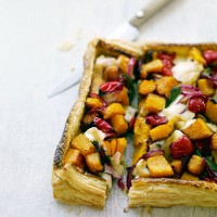Squash, sage and Taleggio tart recipe
