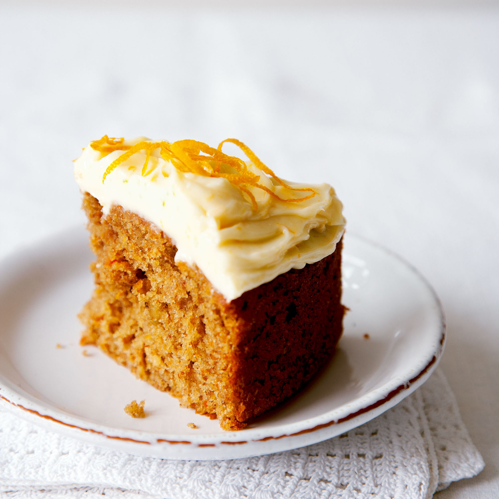 Carrot Cake with Lemon Cream Cheese Frosting - Woman And Home