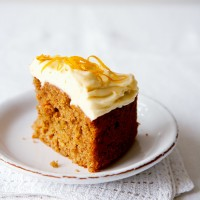 Carrot cake recipe with orange cream cheese frosting recipe