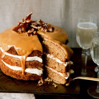Ginger and pecan cake recipe