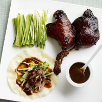 Crispy duck pancakes recipe