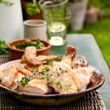 "Rosemary ""beer can"" chicken recipe"